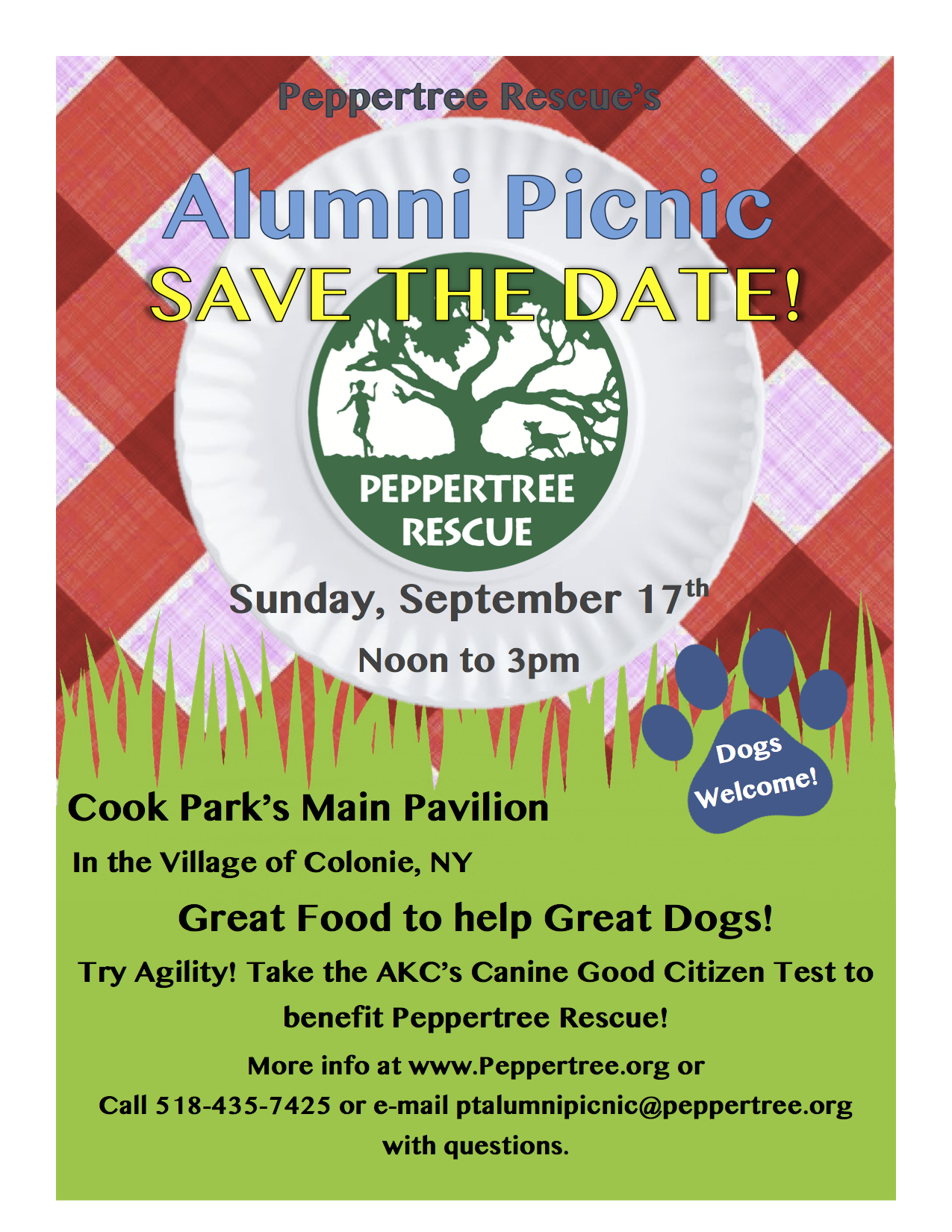 alumni picnic peppertree rescue