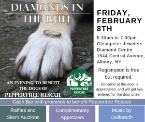 Diamonds in the Ruff Fundraiser @ Glennpeter Diamond Center